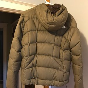 Women's North Face Down Coat